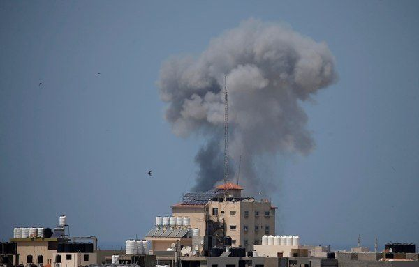 Terroristas de Hamas lanzaron 12 proyectiles desde Gaza hacia Israel