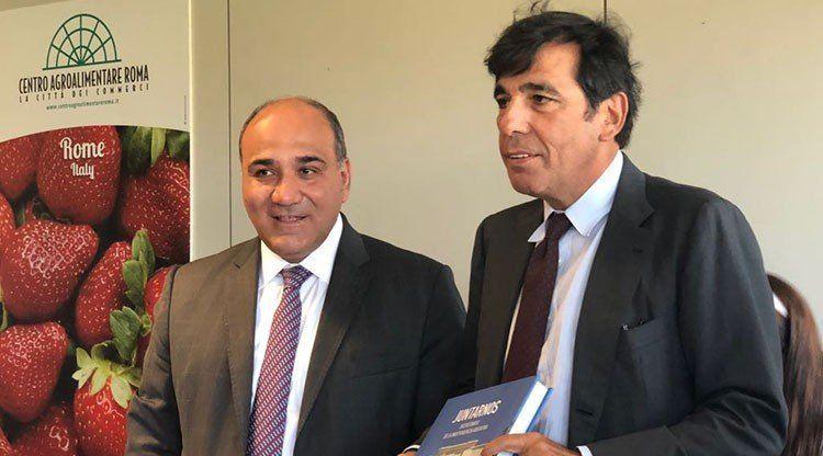 Manzur busca ideas para mejorar la comercialización de productos tucumanos en Roma
