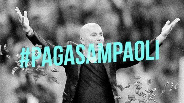Juntan firmas para que Sampaoli renuncie y la AFA done los 20 millones de dólares