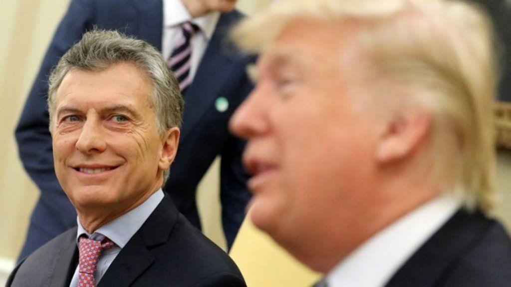 Trump volvió a respaldar al gobierno de Mauricio Macri