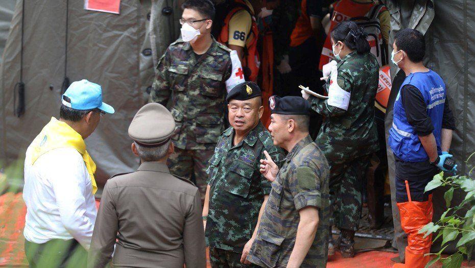 Rescataron al séptimo niño del grupo atrapado en la cueva de Tailandia