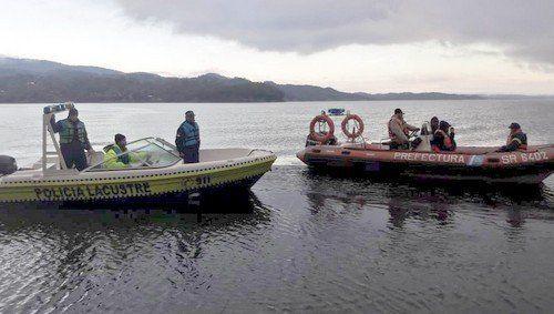 Prefectura Naval colabora con tecnología en la búsqueda de Martín y Facundo Jiménez