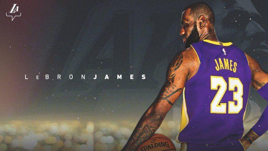 Los Ángeles Lakers le dieron la bienvenida a LeBron James