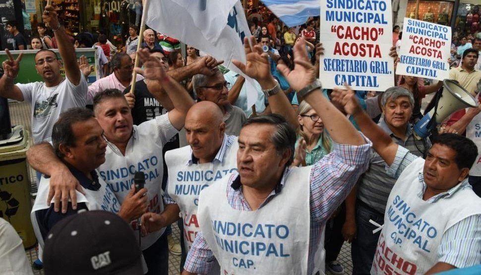 Municipales le reclaman a Alfaro la devolución de un descuento salarial
