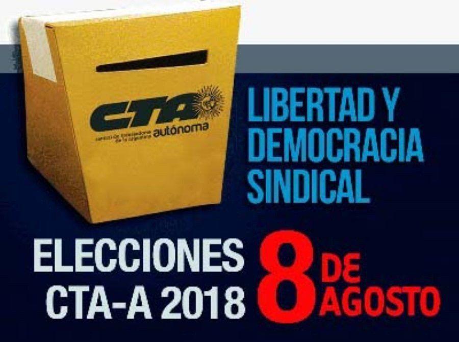 Se desarrollan con normalidad las elecciones de la CTA Autónoma