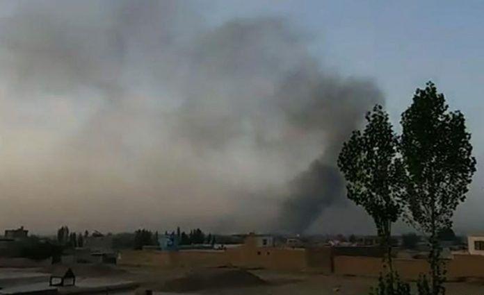 Tropas norteamericanas bombardearon una ciudad de Afganistán