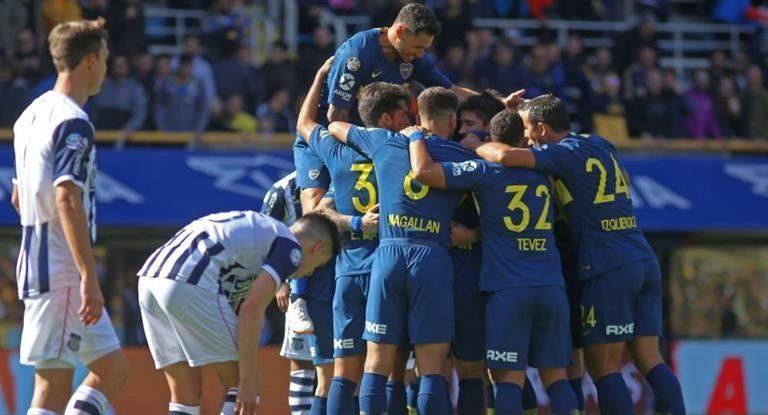 Boca arrancó la defensa del título con un triunfo ante Talleres