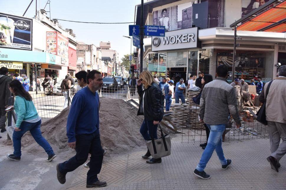 Luego de las obras, ya se podrá volver a circular por la peatonal Celestino Gelsi