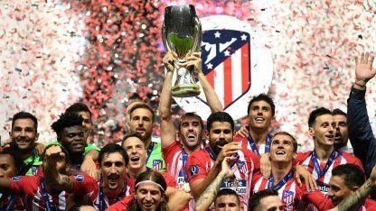 ¡El Atlético del Cholo gritó campeón!