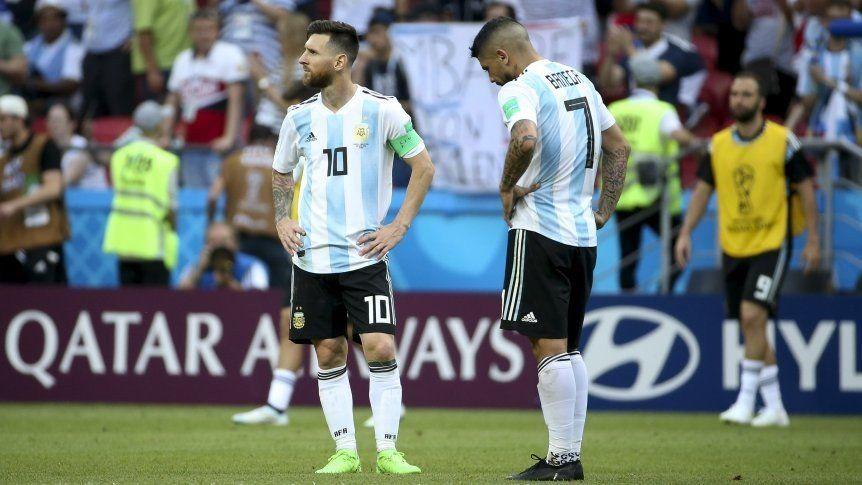 Argentina quedó afuera del top ten del ranking FIFA