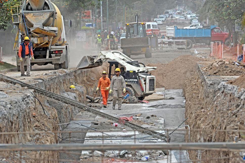 Yerba Buena: Crecen las quejas de los vecinos por las obras del Canal San Luis