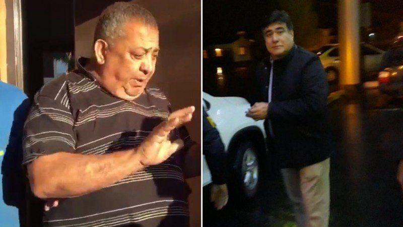 Detuvieron a Luis D Elia y a Carlos Zaninni