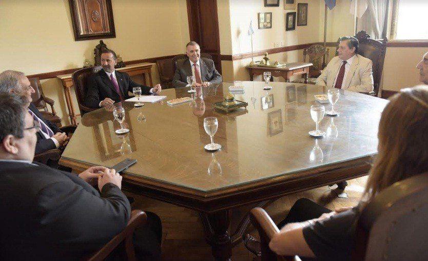 Jaldo se reunió con los miembros de la Corte Suprema
