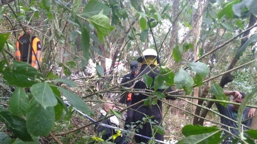 Tragedia aérea: Se inició el operativo de rescate de las víctimas