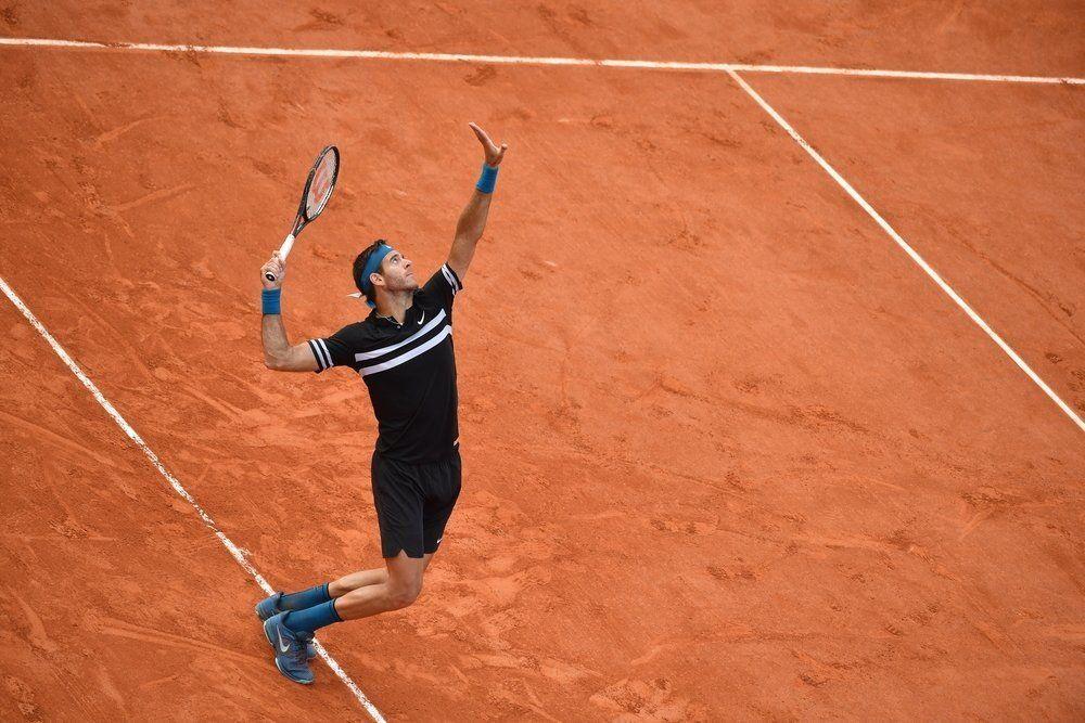 Juan Martín Del Potro es semifinalista de Roland Garros