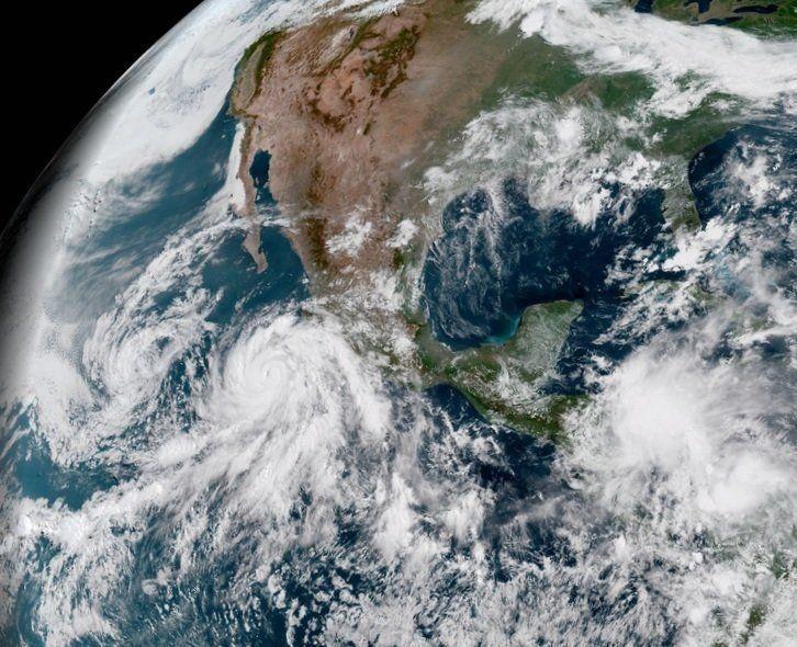 Alerta en México por la formación de un ciclón en el Pacífico
