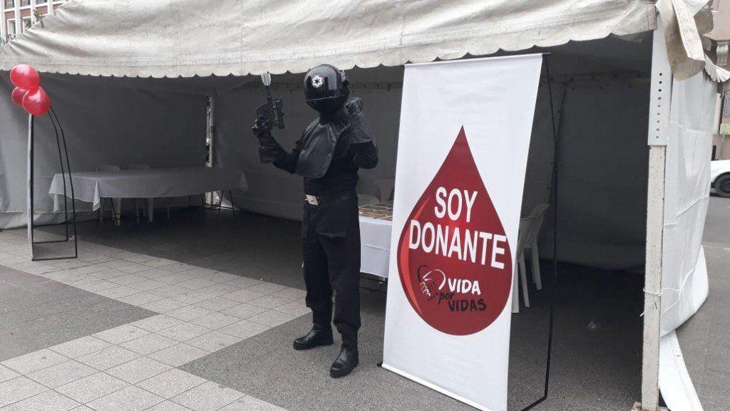 Con actividades en plaza Independencia se celebra el Día Mundial del Donante de Sangre