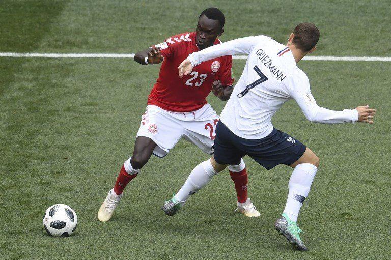 Dinamarca y Francia empataron y aseguraron la clasificación