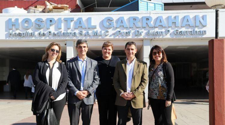 La provincia asiste a las familias de pacientes del Garrahan