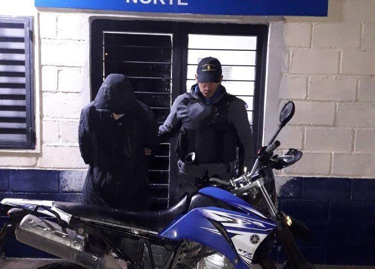 Tiroteo y detención de un hombre sospechado de cometer robos pirañas
