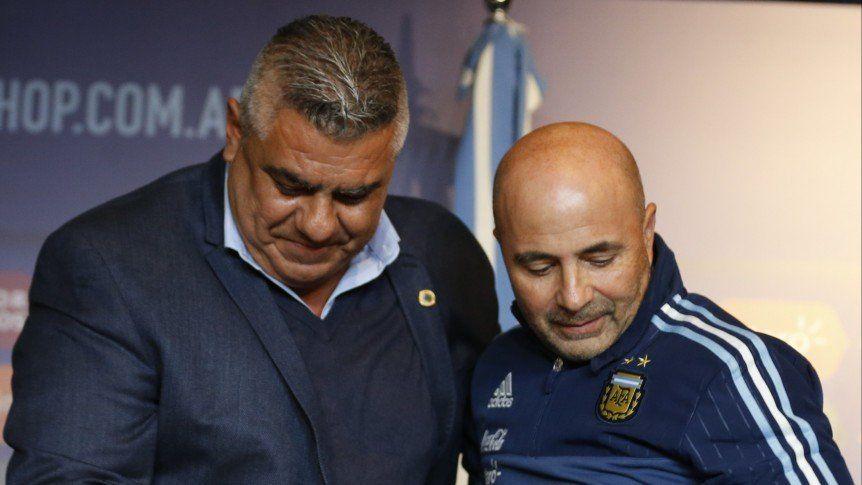 Tapia: Sampaoli es el técnico de la Selección y tiene contrato