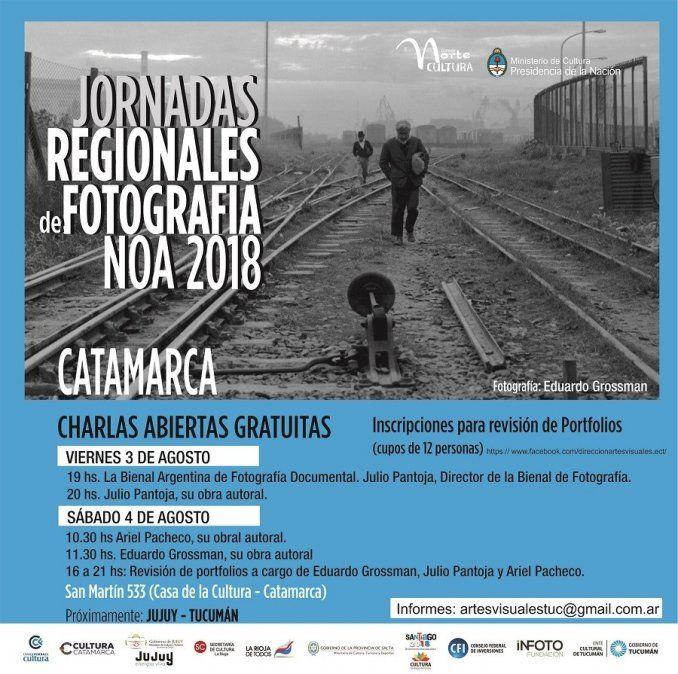 Catamarca será la sede de las Jornadas Regionales de Fotografía NOA 2018