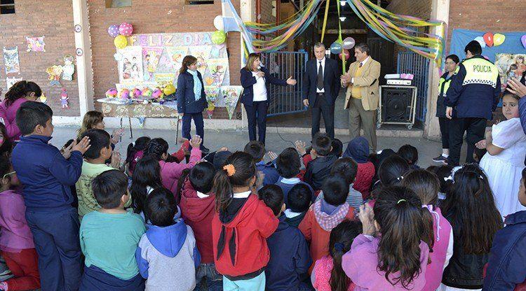 La Patrulla Urbana festejó el Día del Niño como tarea de integración