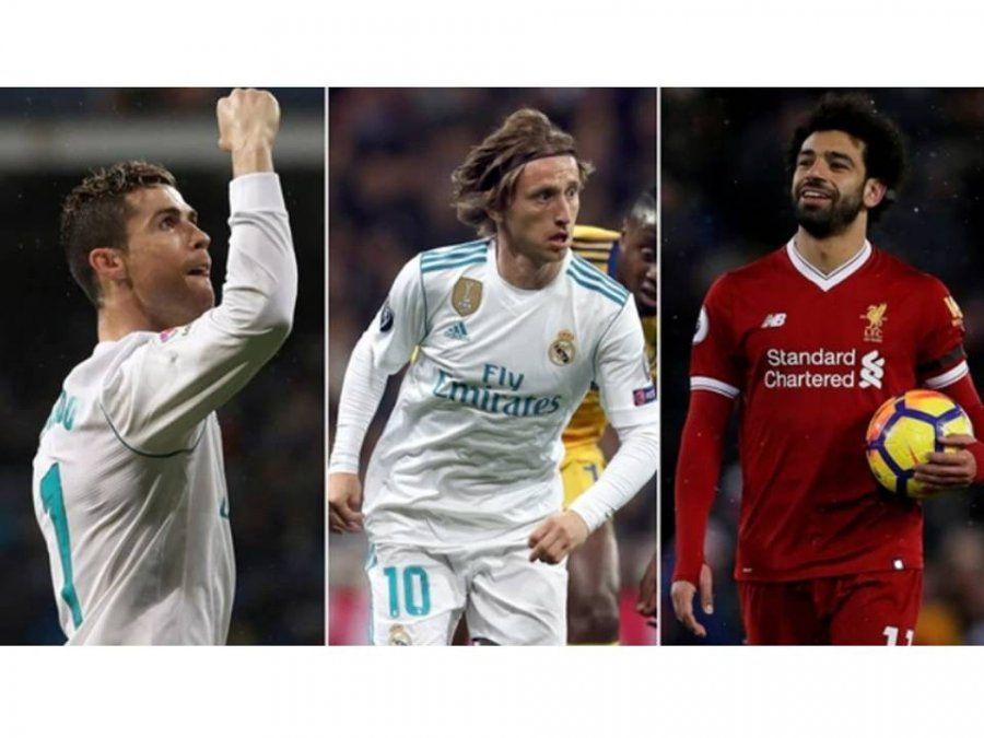 Messi no está entre los tres mejores para la UEFA