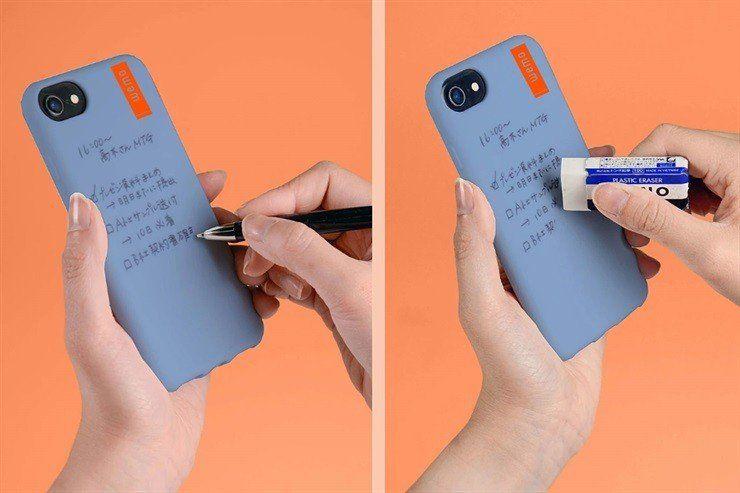 La funda que permite anotar recdordatorios en tu teléfono