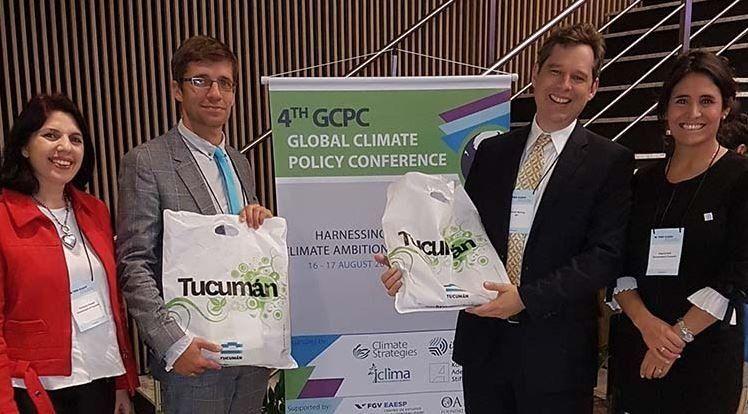 Tucumán participó de la Conferencia Global sobre Políticas Climáticas