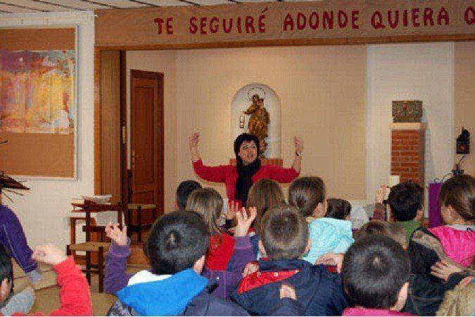 No es fácil hablar de Dios, admite la catequista Emilse Zelarayán
