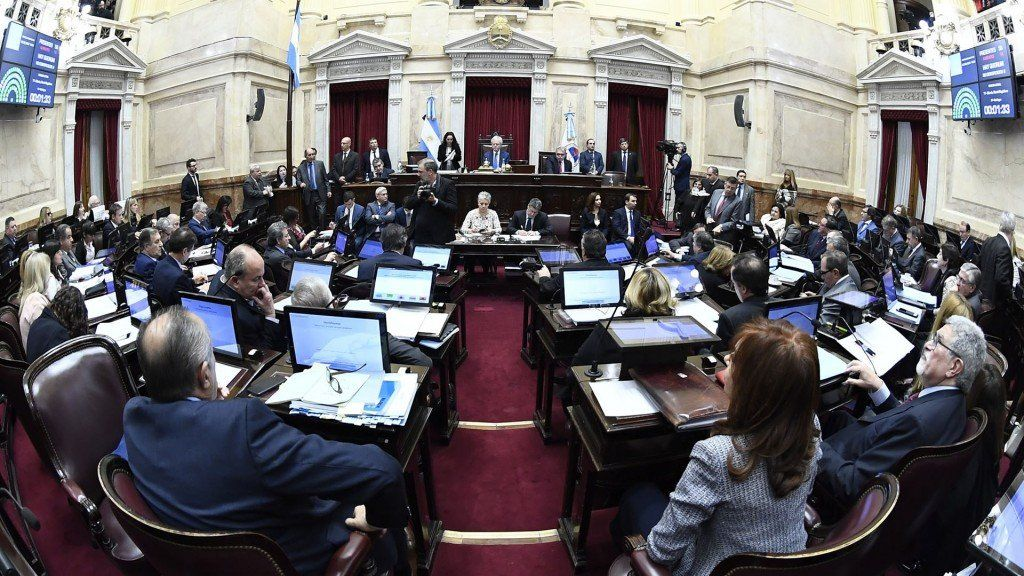 La Cámara de Senadores aprobó la extinción de dominio y volverá a Diputados