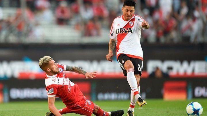 River busca saldar el déficit goleador ante Argentinos