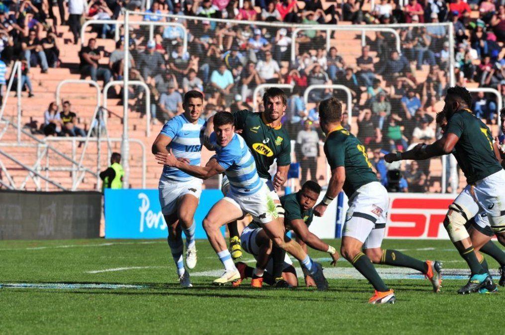 Los Pumas se recuperaron del debut y superaron a Sudáfrica en Mendoza
