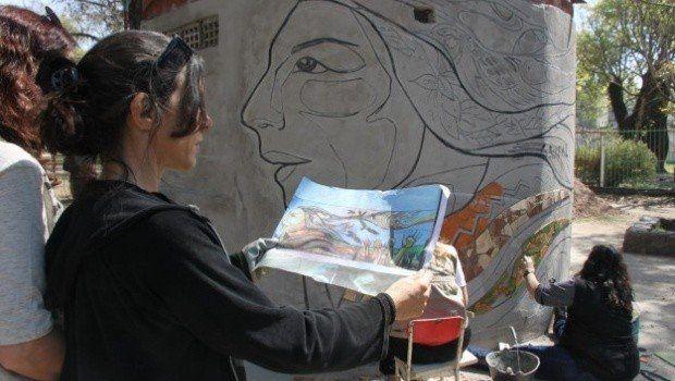 Se realiza el  Segundo Encuentro Internacional de Arte y Muralismo