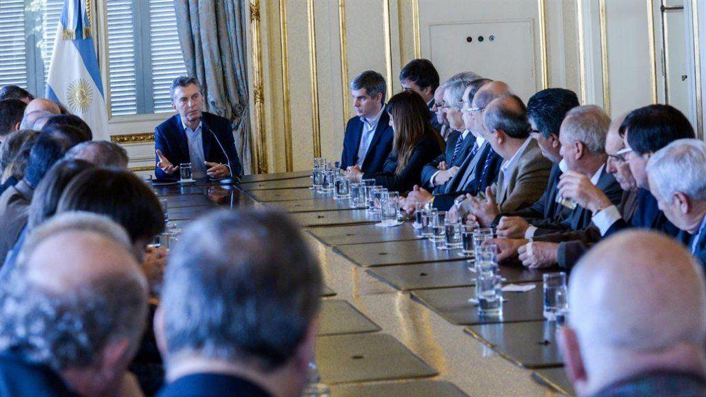 Mauricio Macri recibe a los rectores de universidades nacionales