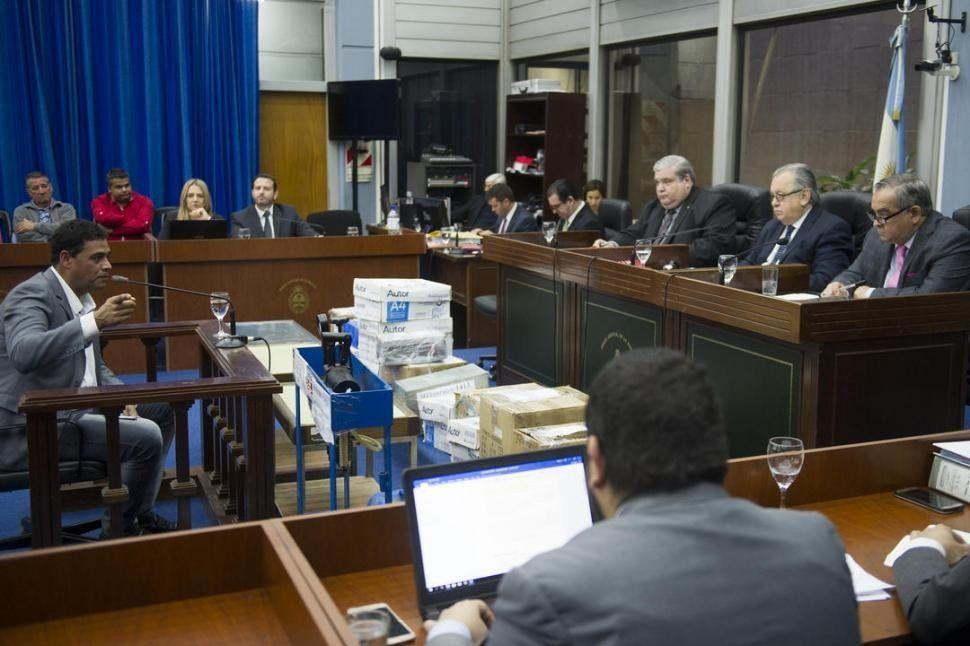 Trayán dijo que no quiere ser juzgado como narco sino como político