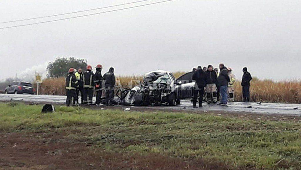 Otra víctima mortal en la ruta 38: su auto chocó contra una rastra cañera