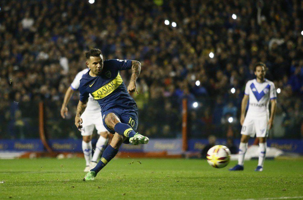 Boca goleó 3-0 a Vélez en La Bombonera
