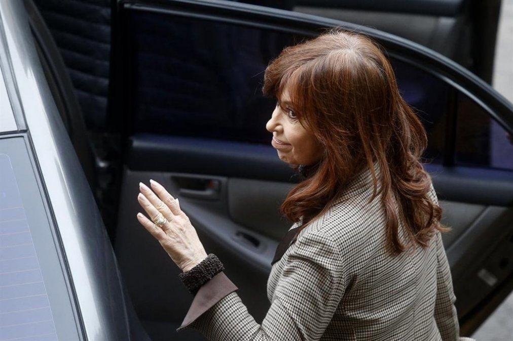 Cristina Kirchner vuelve a declarar ante Bonadio por la causa de los cuadernos