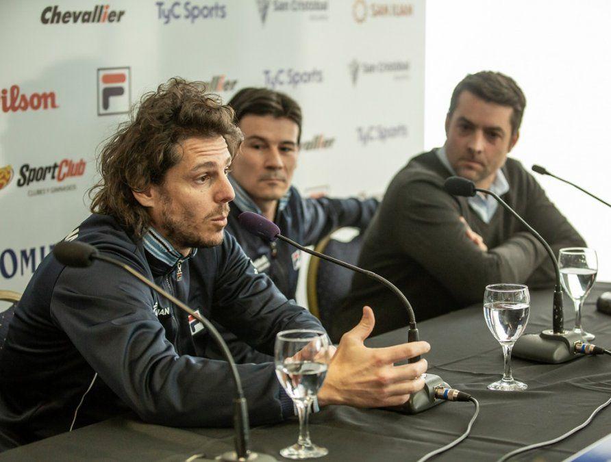 Copa Davis: el triunvirato hizo su primera convocatoria