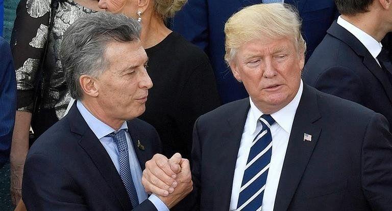 Trump ratificó su apoyo a Macri por negociaciones con el FMI