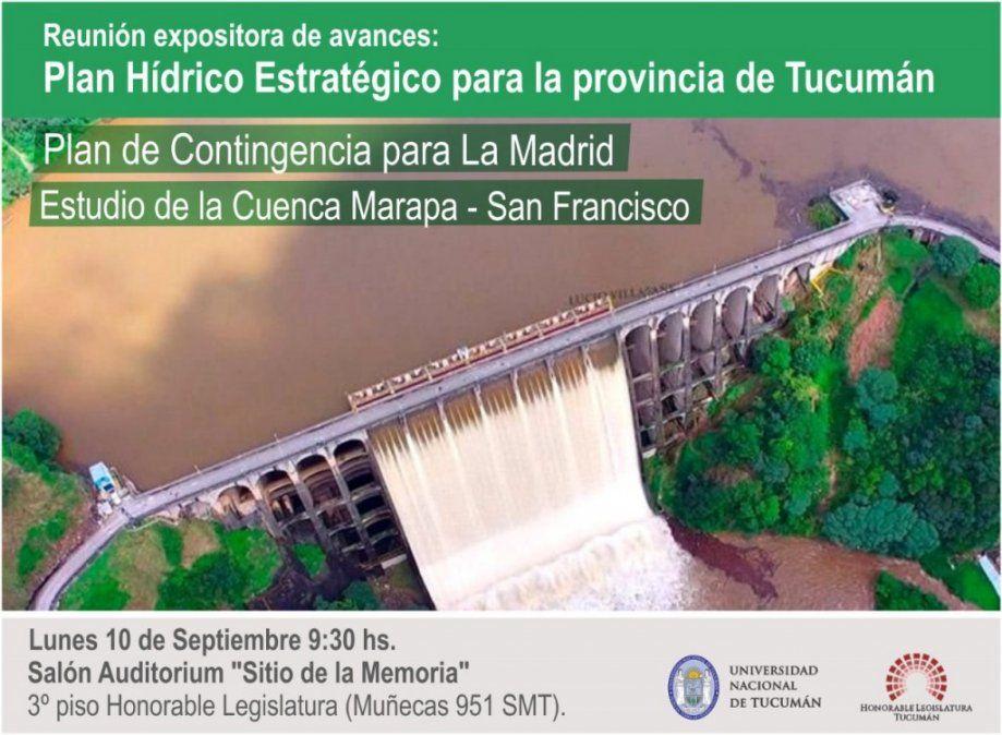 Brindan informes sobre el Plan Hídrico Estratégico para Tucumán