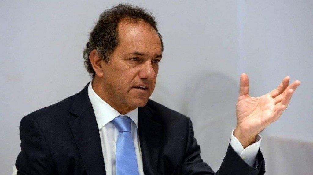 Daniel Scioli criticó la gestión de Cambiemos y habló de las diferencias en el peronismo