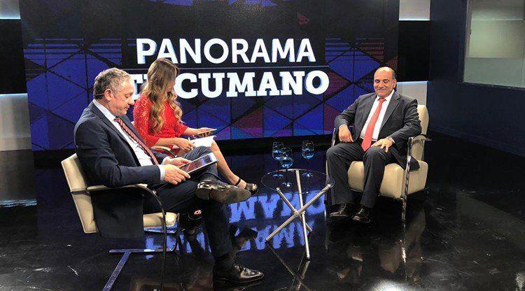 """""""Lo que quiero es no ceder nada de lo que le corresponde a Tucumán""""."""