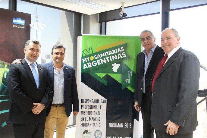 Presentaron las XVI Jornadas Fitosanitarias Argentinas en la Legislatura