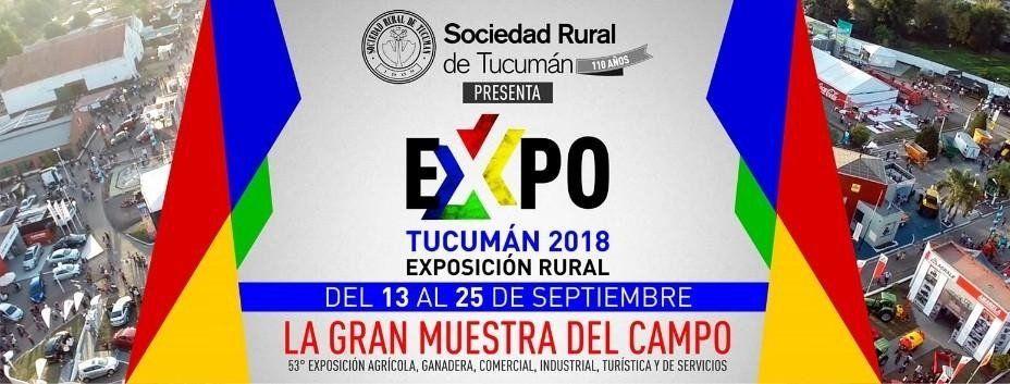 Hoy quedará inaugurada la 53ª Expo Tucumán 2018