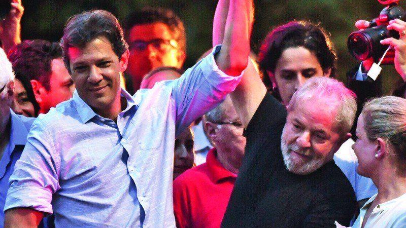 El candidato Fernando Haddad utilizará el modelo político de Lula