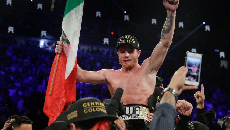 Canelo Álvarez le ganó por puntos a Golovkin en la pelea del año