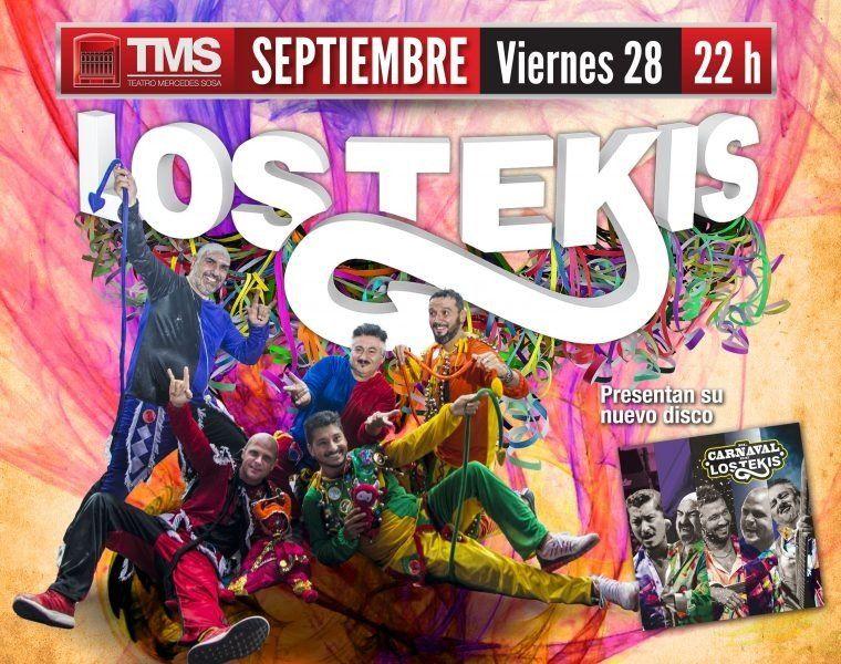 Los Tekis traen su Carnaval al Mercedes Sosa